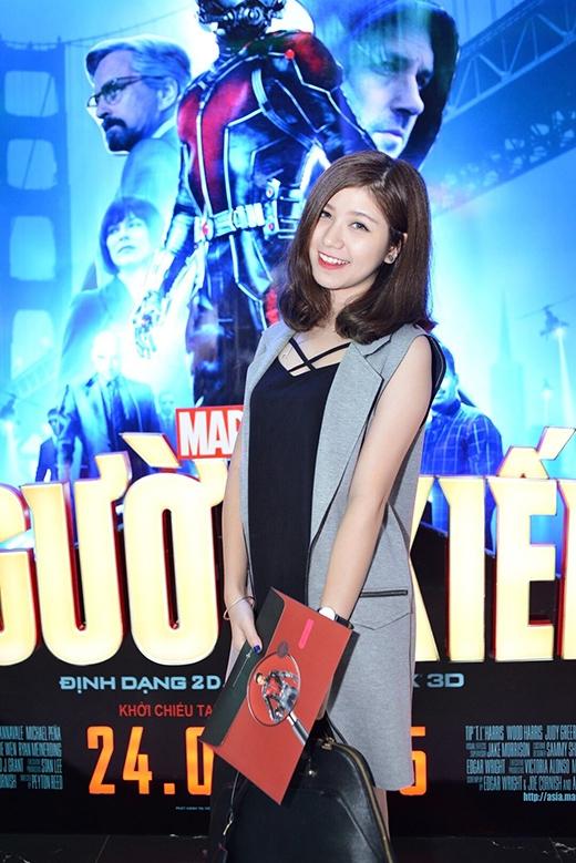 An Japan xinh đẹp dịu dàng đi ra mắt phim.