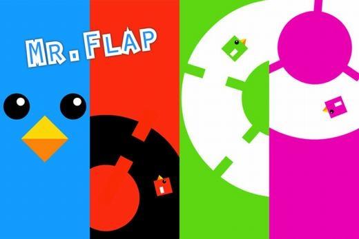 Nếu bạn đã từng chơi Flappy Bird thì Mr Flap cũng như vậy. Flappy Bird nổi tiếng thế giới nhờ cách chơi cực khó nhưng nếu trò chơi này chỉ khó một thì Mr Flap khó gấp mười. Và thay vì điều khiển chú chim vượt qua các cột thẳng đứng, thì bạn phải điều khiển nó vượt qua các khối tròn quay liên tục với khe hở cực nhỏ.