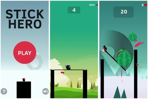 Stick Hero là tựa game đã xuất hiện được một thời gian và được nhiều người đón nhận. Trong trò chơi, bạn sẽ hóa thân một chú lợn anh hùng với nhiệm vụ bắc cầu để băng qua những chướng ngại vật trên đường đi.Bạn cần điều chỉnh độ dài ngắn của cầu thông qua thời gian nhấn và giữ ngón tay trên màn hình.