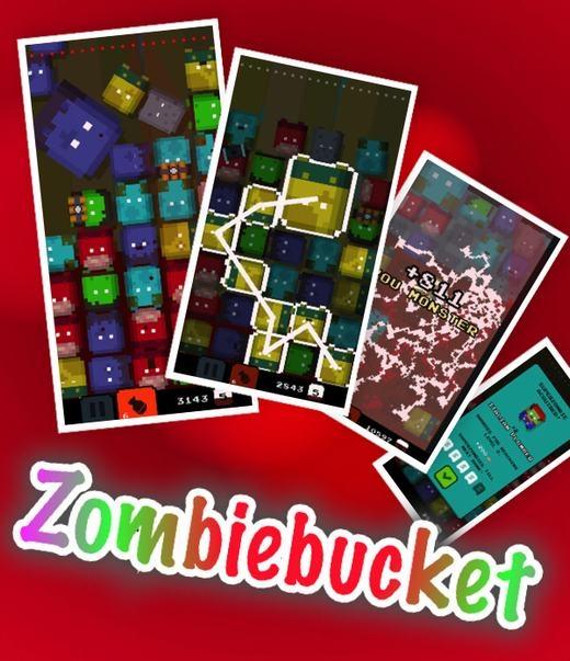 Với Zombie bucket, bạn cần nhanh tay và nhanh mắt nối những zombie cùng màu lại với nhau. Tốc độ của game càng tăng, bạn cần nhanh tay lẹ mắt hơn nữa. Báo trước là trò chơi có mức gây nghiện khá cao đấy nhé!