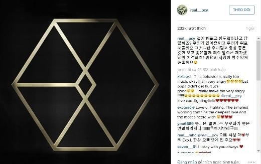 Chanyeol an ủi fan, Tao dai dẳng đá đểu EXO