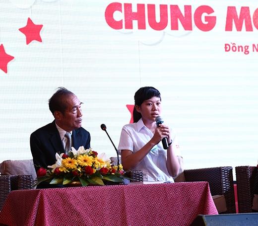 Lan Hương chia sẻ về hoàn cảnh đặc biệt khó khăn của mình.