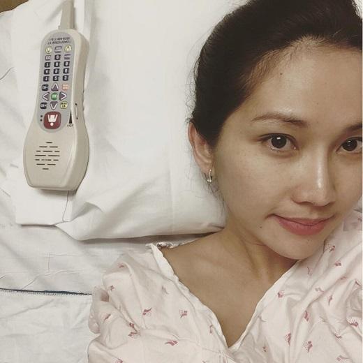 Kim Hiền đang được chồng và các bác sĩ chăm tóc tận tình. - Tin sao Viet - Tin tuc sao Viet - Scandal sao Viet - Tin tuc cua Sao - Tin cua Sao