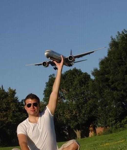 Cách để bắt máy bay dễ dàng nhất.