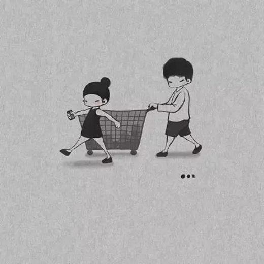 Khi có tình yêu, mọi hoạt động đơn giản hàng ngày cũng là một niềm vui.