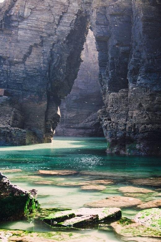 Biển Cathedral là một hình mẫu tuyệt vời về tác động của năng lượng từ thiên nhiên.