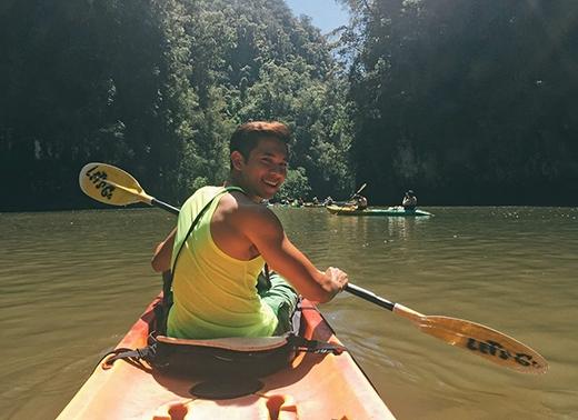 [Sao Vi Vu] Hồ Vĩnh Khoa ngất ngây với thiên đường Krabi