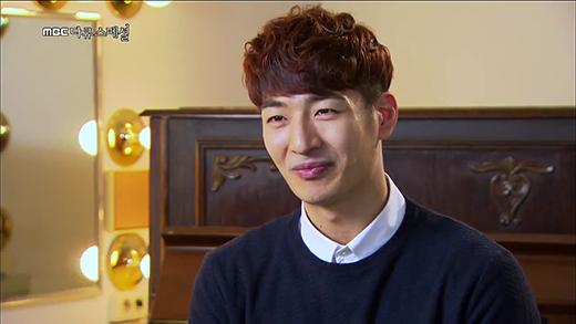 Son Ho Young từng làm việc bán thời gian tại một nhà hàng thịt nướng.