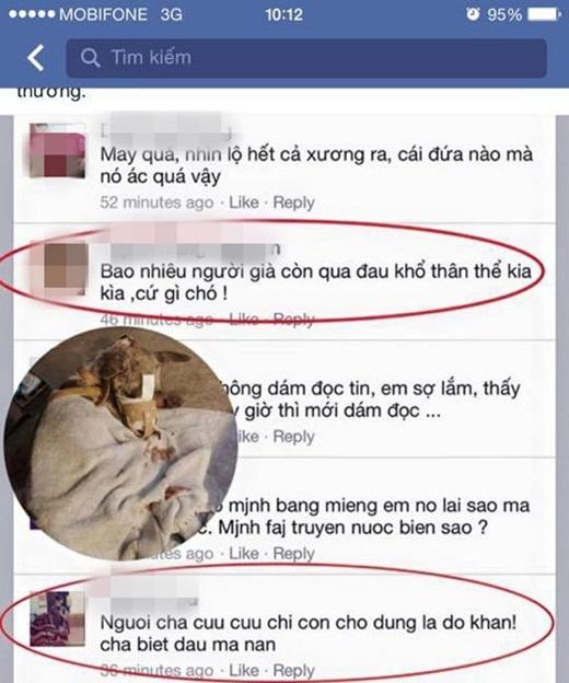 Tranh cãi gay gắt xung quanh chuyện cứu chú chó bị hoại tử