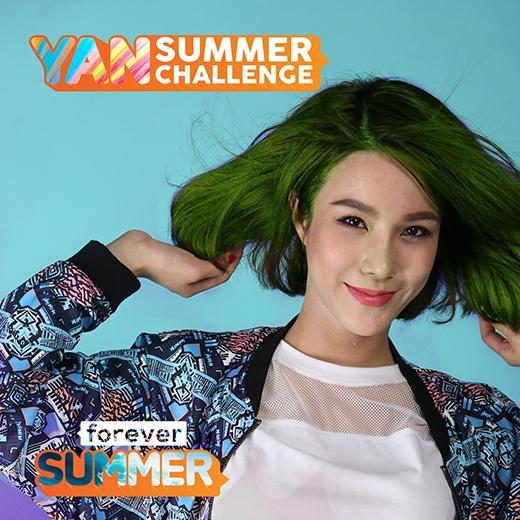 Mùa hè này, bạn có muốn tóc mình thật rực rỡ như Diệp Lâm Anh?