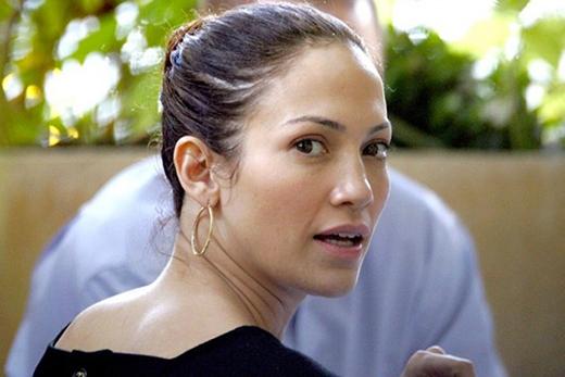 Gương mặt mộc của Jennifer Lopez trông cực kì khỏe khoắn.