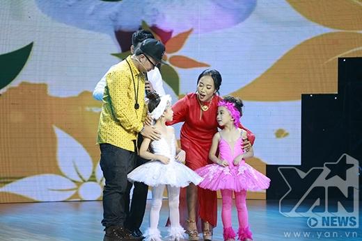 Hà Lê và Đoan Trang đã quyết định chọn bé Yến Trangđi tiếp vào vòng liveshow. - Tin sao Viet - Tin tuc sao Viet - Scandal sao Viet - Tin tuc cua Sao - Tin cua Sao