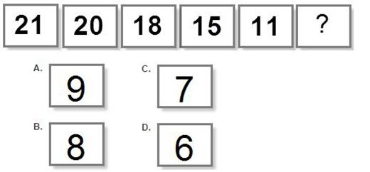 Câu 2: Số nào tiếp theo nhỉ?