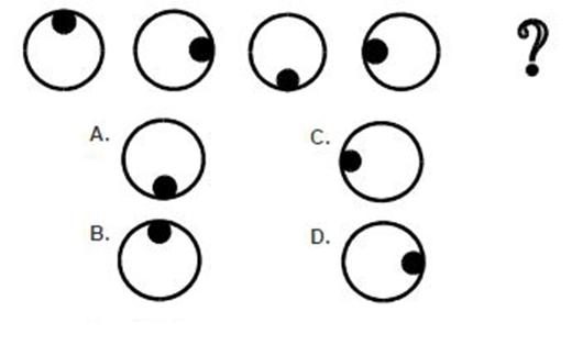 Câu 6: Hình nào phù hợp với dấu chấm hỏi nhất?