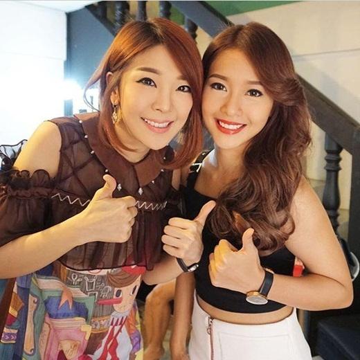 Khả Ngân xuất hiện bất ngờ trên truyền hình Thái