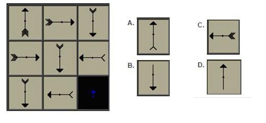 Câu 1: Theo bạn, hình nào phù hợp nhất để đặt vào dấu chấm hỏi?