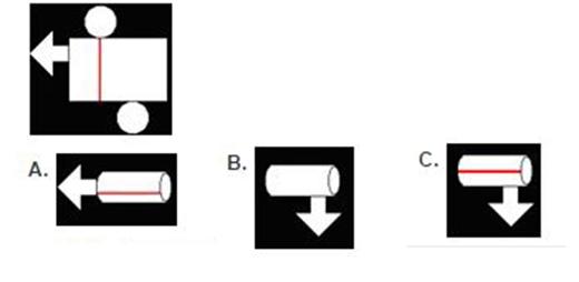 Câu 3: Hình nào được làm từ hình bên trái nhỉ?