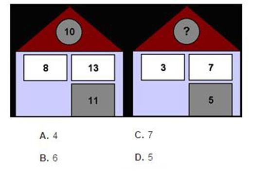 Câu 9: Ngôi nhà này còn thiếu 1 số, theo bạn là số nào?