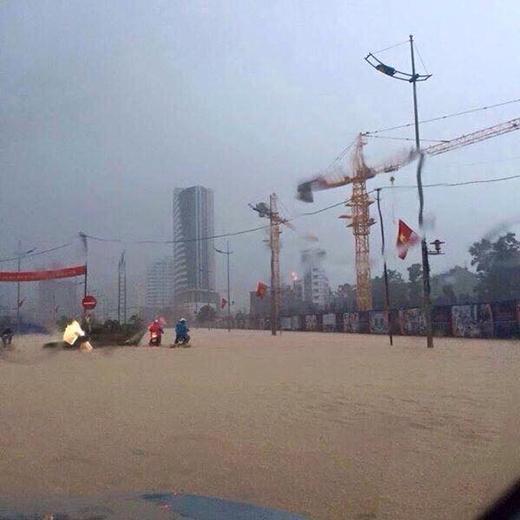 Mưa lũ vẫn còn đang diễn ra phức tạp tại Quảng Ninh.