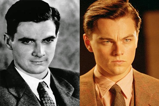 Leonardo DiCaprio trong vai Howard Hughes (phim The Aviator).
