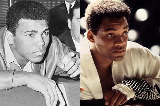 Will Smith trong vai Muhammad Ali (phim Ali).