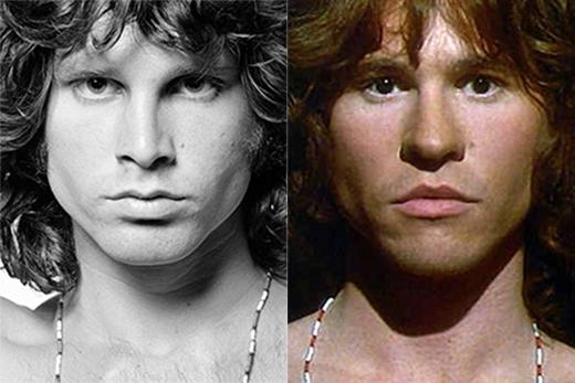 Val Kilmer trong vai Jim Morrison (phim The Doors).