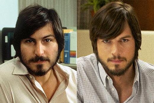 Ashton Kutcher trong vai Steve Jobs (phim Jobs).