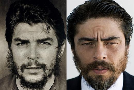 Benecio del Toro trong vai Che Guevera (phim Che).