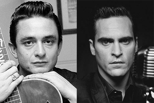 Joaquin Phoenix trong vai Johnny Cash (phim Walk the Line).