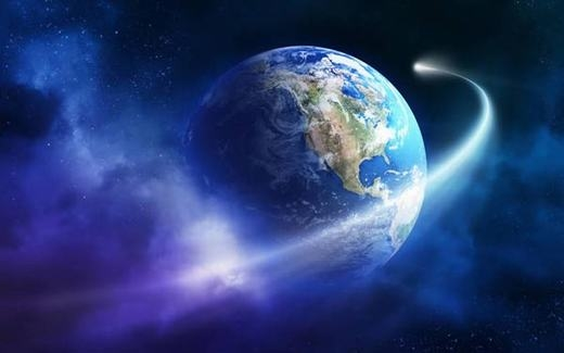 Bạn có biết Trái đất xoay tròn quanh trục của mình và di chuyển trong không gian với vận tốc bao nhiêu không? Đó là khoảng 1.609 km/h quanh trục và 107.826 km/h trong không gian.