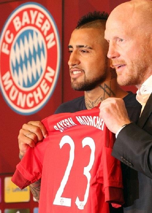 Chia sẻ trên website của Bayern, Vidal cho biết: Tôi rất hạnh phúc vì giấc mơ đã trở thành sự thật. Đây là bước tiến mới trong sự nghiệp. Tôi muốn cùng CLB gặt hái nhiều thành công, giành các danh hiệu quan trọng như Champions League.