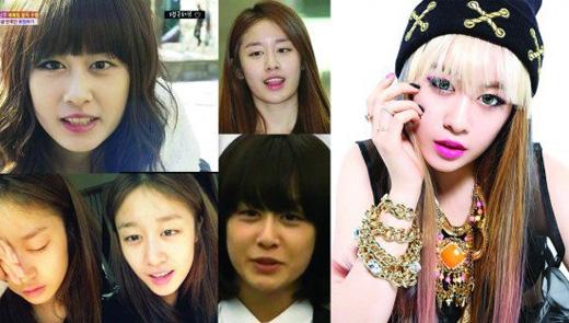 Tiểu Kim Tae Hee - Jiyeonhoàn toàn không làm khán giả thất vọng với khuôn mặt mộc.