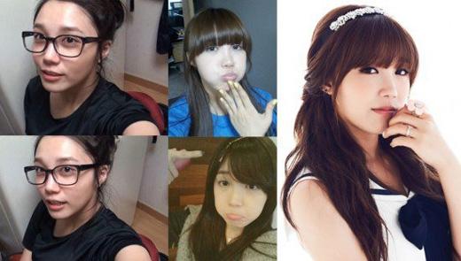 Cô nàng cá tính Eunjikhông ít lần khoe mặt mộc trên trang cá nhân và luôn được khen ngợi.