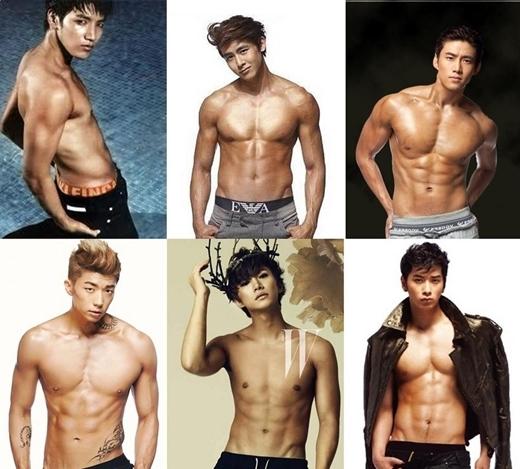 """Không hổ danh là """"thần tượng quái thú"""", ra mắt đến nay đã gần 7 năm nhưng 2PM vẫn chăm chỉ luyện tập để giữ vững vẻ đẹp hình thể."""