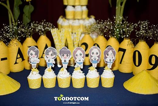 Các fan Việt đã gửi đến những món quà cực kì ý nghĩa cho T-ara mừng sinh nhật 6 năm (Ảnh:Tgodotcom Vietnamese Queen's)