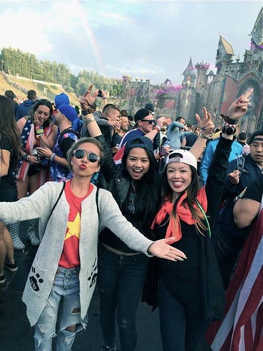 Thảo Trang vi vu trời Tây thưởng thức đại tiệc âm nhạc - Tin sao Viet - Tin tuc sao Viet - Scandal sao Viet - Tin tuc cua Sao - Tin cua Sao