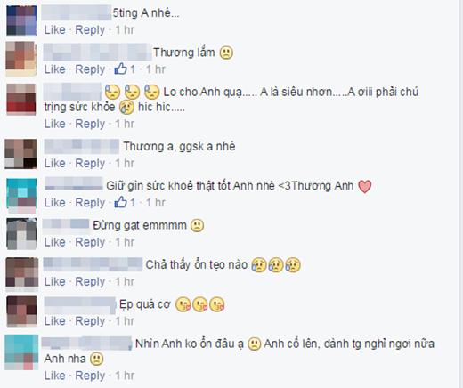Noo nhận được rất nhiều lời bình luận hỏi thăm động viên từ các fan - Tin sao Viet - Tin tuc sao Viet - Scandal sao Viet - Tin tuc cua Sao - Tin cua Sao