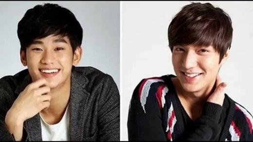 Kim Soo Hyun và Lee Min Ho là 2 con mồi béo bở của kẻ gian.