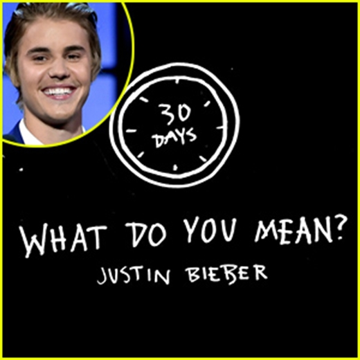 Justin Bieber bẽn lẽn tâm sự về sản phẩm mới