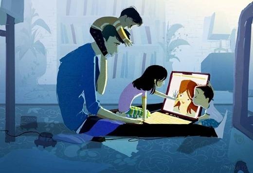 Không hẳn là giác quan thứ 6 nhưng mỗi khi bạn thấy nhớ gia đình, họ cũng đang buồn bã vì không được gặp bạn.