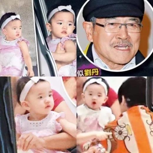 Con gái Tiểu Nhu Mễ của vợ chồng Dương Mịch.