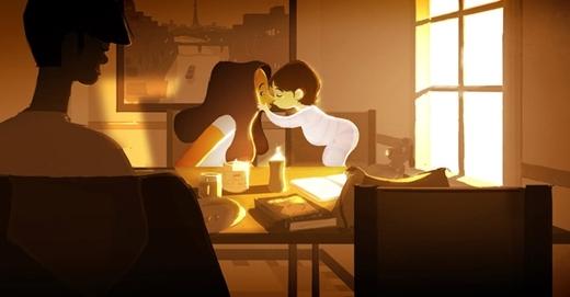 Mọi nỗi buồn đều như tan biến khi ta nhận được những cái ôm, hôn.