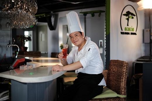 Jack Lee hiện là bếp trưởng của nhà hàng Acacia Veranda Dining.