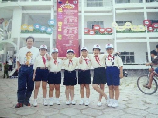 Họ đều là các thành viên của Nhà thiếu nhi TP.HCM.
