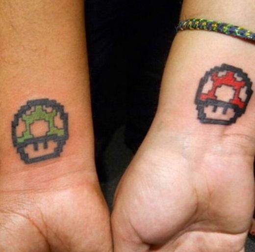 Bộ đôi Mario xanh và Mario đỏ