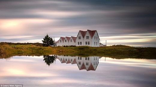 Wim nhận ra con người nhỏ nhoi và mỏng manh như thế nào trong tự nhiên kể từ chuyến đi thăm Iceland năm 2010.