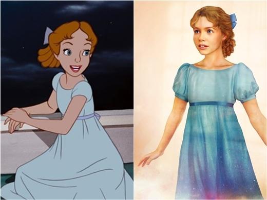 Cô nhóc Wendy trong phim hoạt hình Peter Pan thật đáng yêu phải không nào?