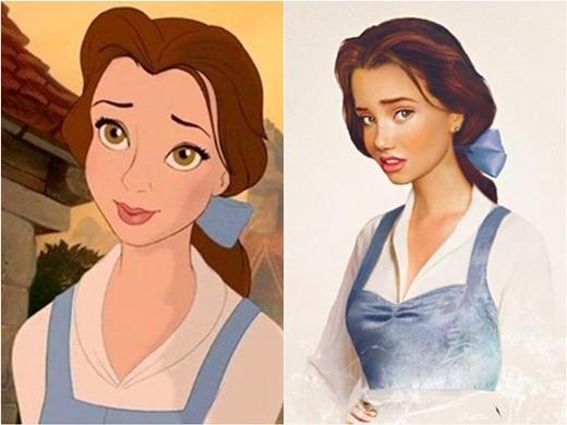 Người đẹp Bella với đôi môi mọng và cặp mắt trong sáng.
