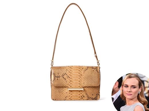 Diane Kruger và Jason Wu được biết đến là hai người bạn thân thiết. Vì thế, không quá ngạc nhiên khi họ hợp tác và cho ra đời kiểu ví gập hợp thời trang. Và chiếc túi này được đặt theo tên của Diane Kruger.