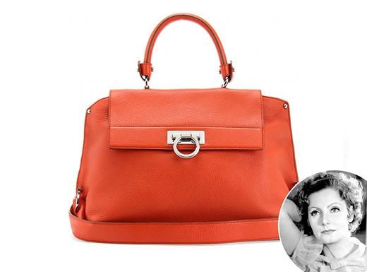 Chiếc túi cổ điển bắt mắt củaBallyđược đặt tên theo huyền thoại Greta Garbo.